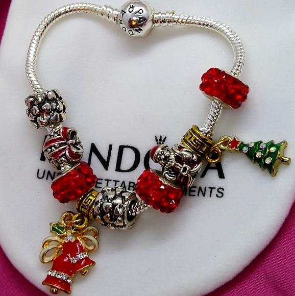 Pandora Jewelry Bracelet Wcharm Bundle Poshmark